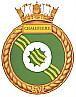 HMCS Chaudiere badge