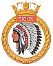 HMCS Sioux badge