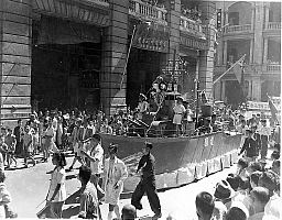 Hong Kong, Japanese surrender celebrations