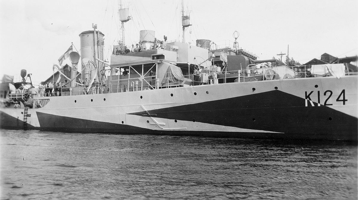 Royal Canadian Navy : HMCS Cobalt, 1944