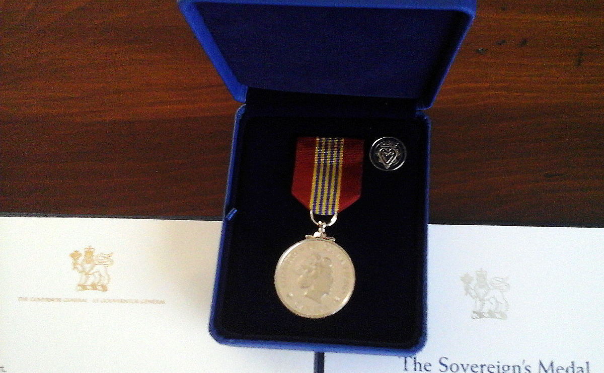 Royal Canadian Navy : Sovereign's Medal for Volunteers.