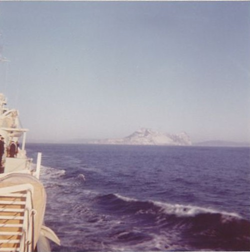 Royal Canadian Navy : Rock of Gibraltar.