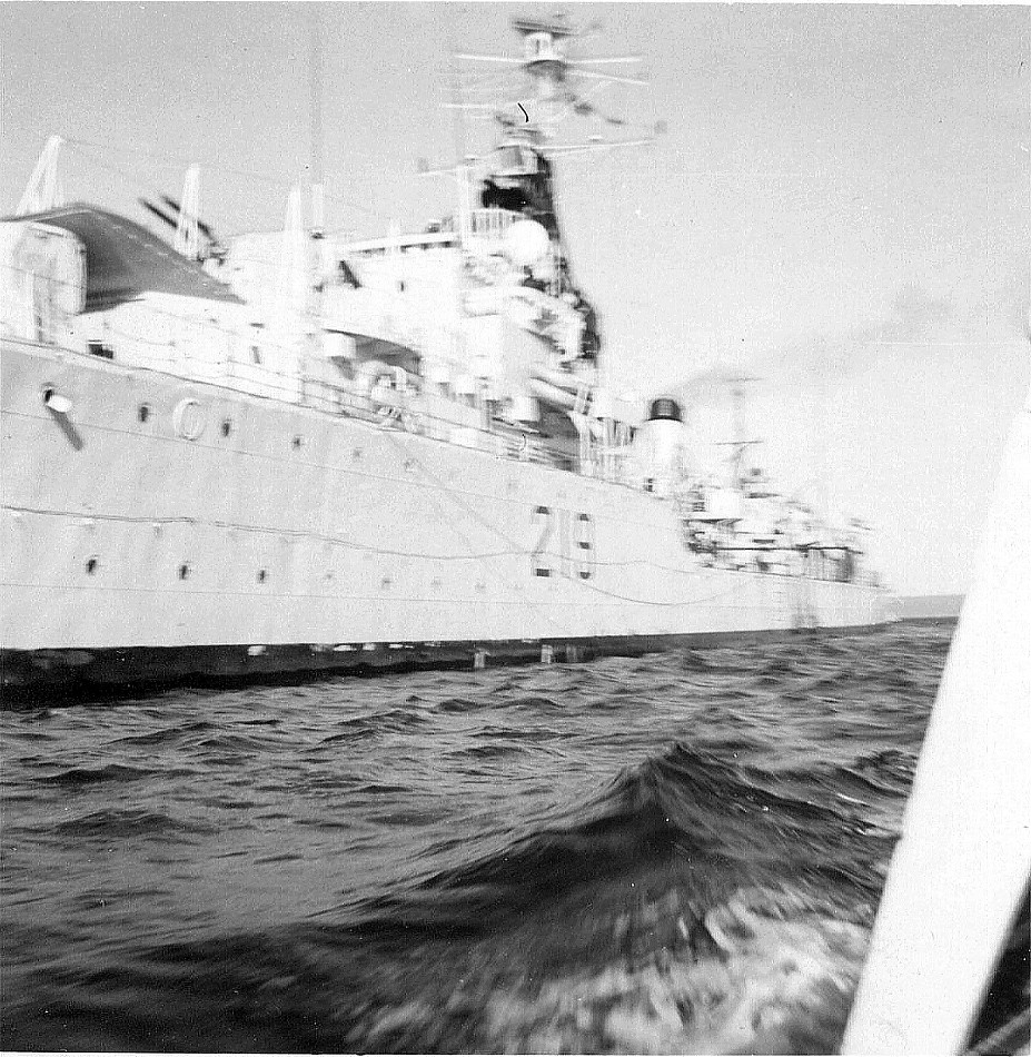 Royal Canadian Navy : HMCS Athabaskan