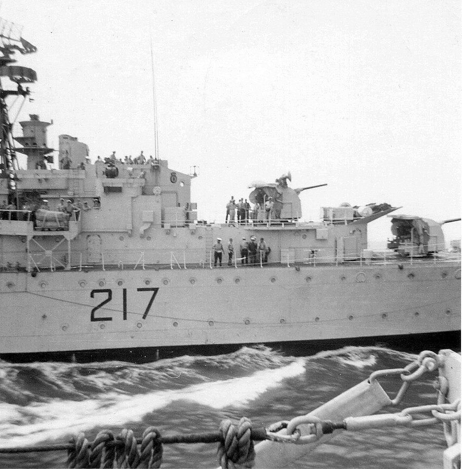 Royal Canadian Navy : HMCS Iroquois.