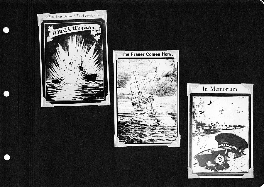 'In Memoriam' Cards, 1940's