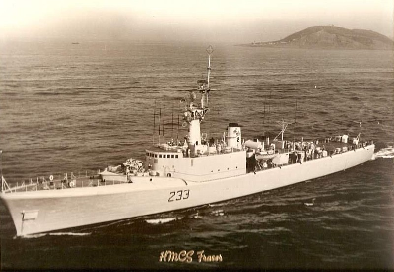 Royal Canadian Navy : HMCS Fraser.
