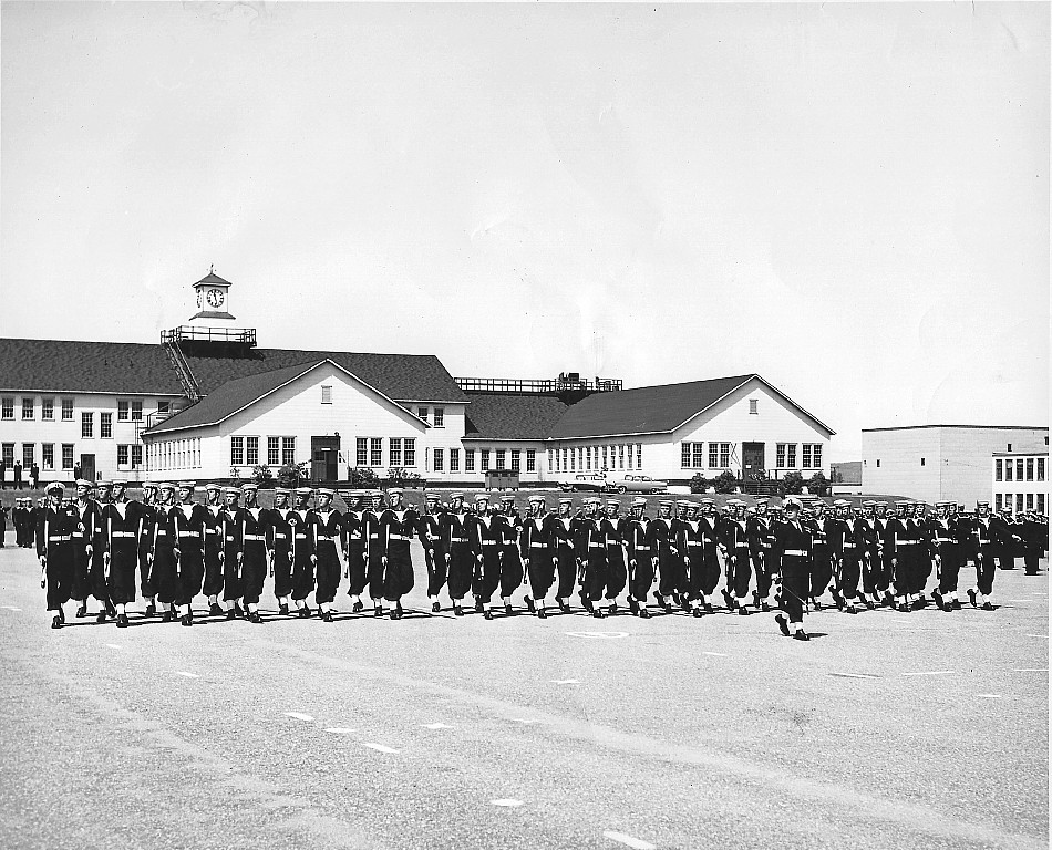 HMCS Cornwallis, Passing Out Parade, 1960