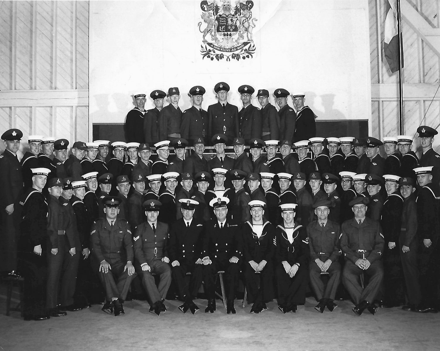 HMCS Cornwallis, Mixed Group of Army, Navy, Air Force