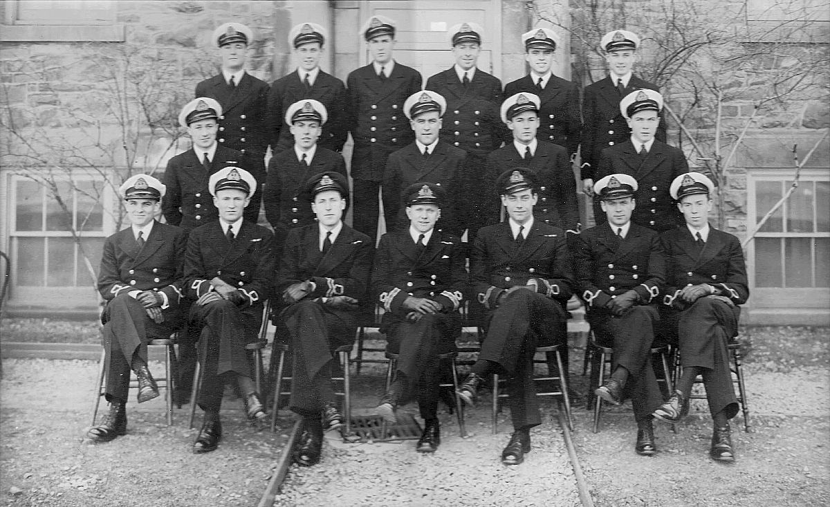 Royal Canadian Navy : HMCS Kings, 1945