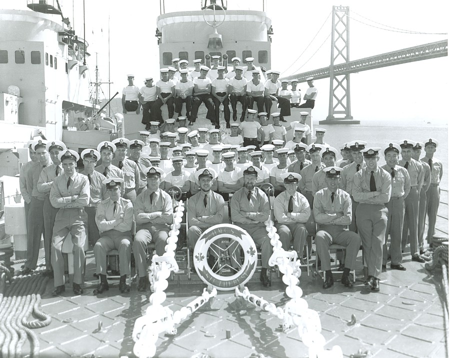 HMCS Ste. Therese ship's company, August 1961.