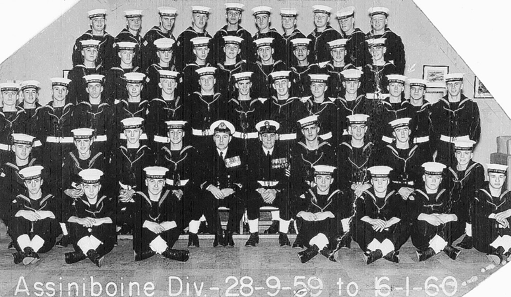Royal Canadian Navy : HMCS Cornwallis, 1960