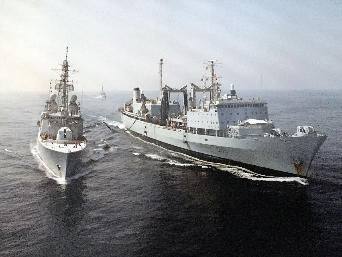 Royal Canadian Navy : HMCS Protecteur