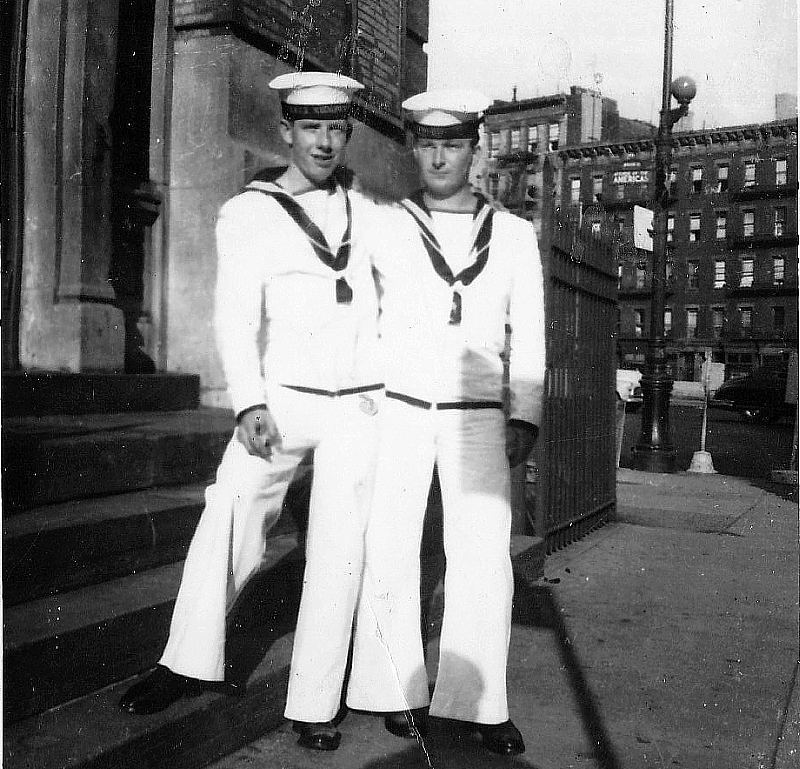 Royal Canadian Navy : Rea Reid and Herb Smith