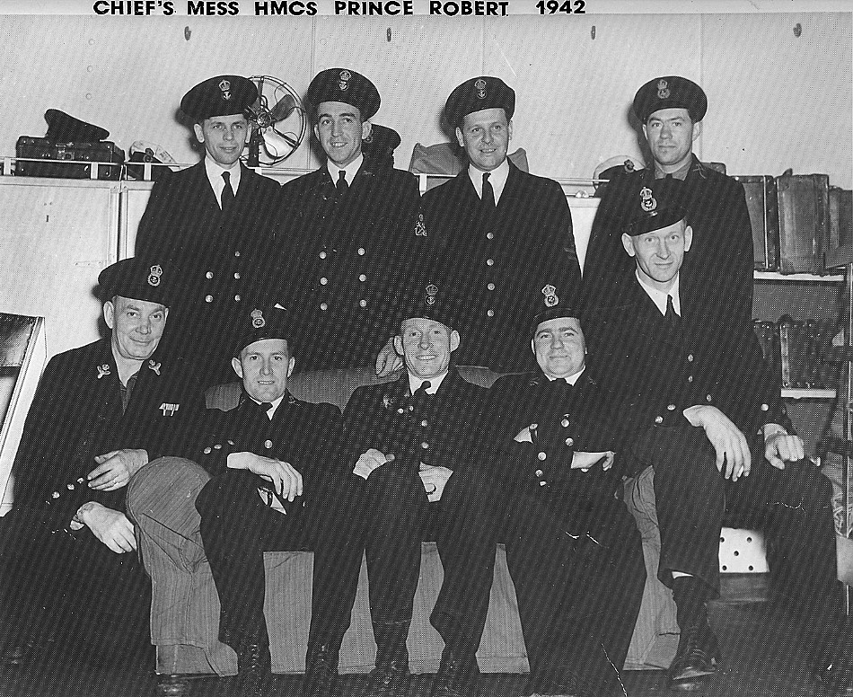 Royal Canadian Navy : HMCS Prince Robert, Chief Petty Officers Mess