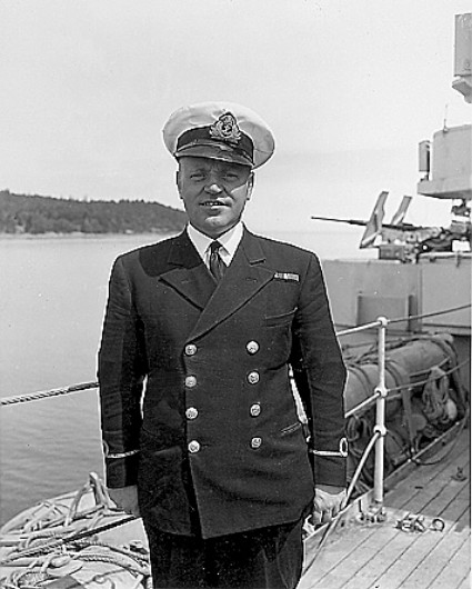 Royal Canadian Navy : HMCS Prince Robert, Fred Messing