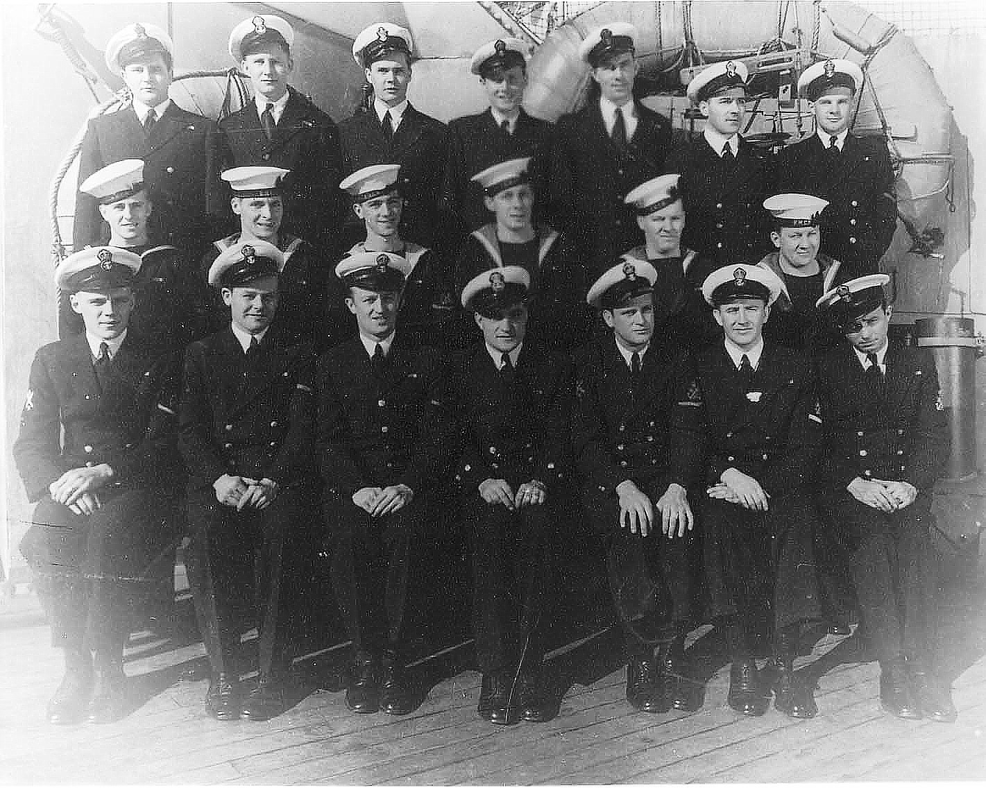 Royal Canadian Navy : HMCS Prince Robert, Petty Officers