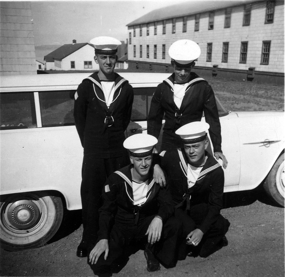 HMCS Cornwallis, Recruits, June 1955