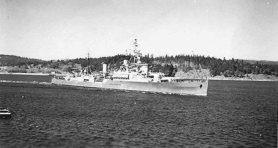 Royal Canadian Navy : unknown frigate