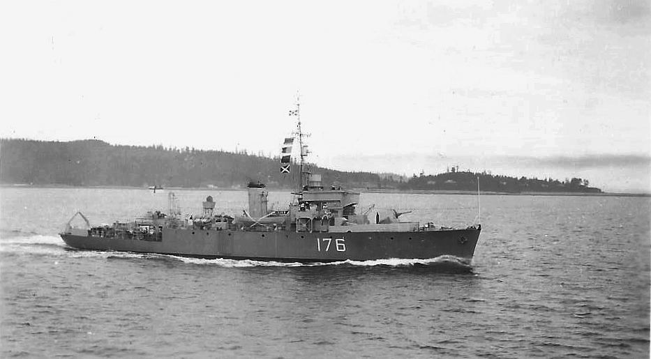 Royal Canadian Navy : HMCS Sault Ste Marie