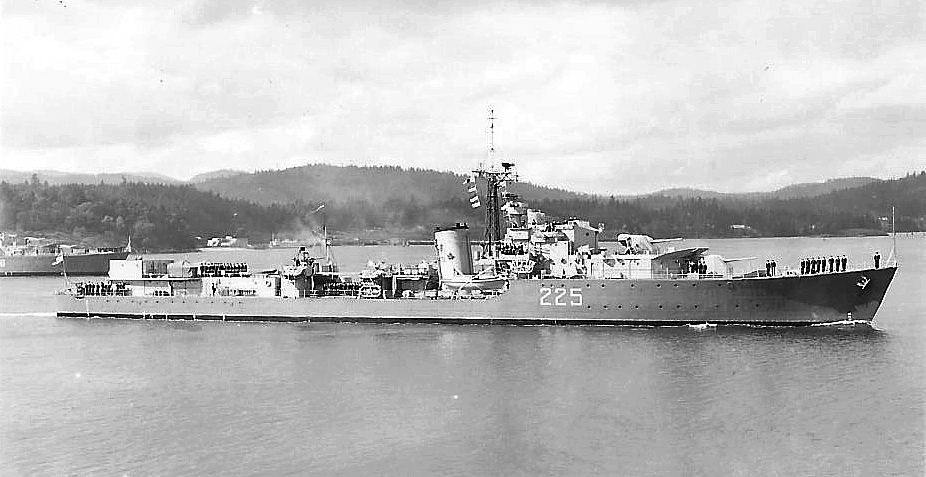 Royal Canadian Navy : HMCS Sioux