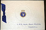 NRS Churchill Christmas card